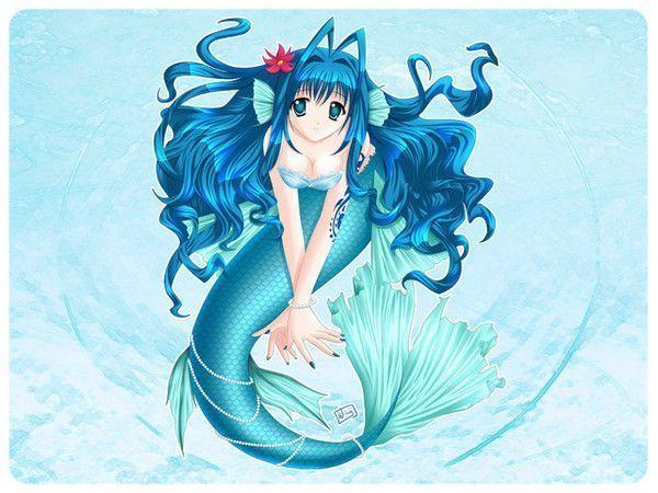 dessin manga sirene